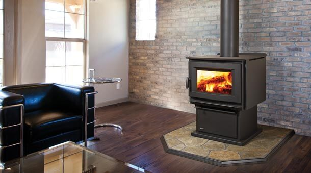 Regency Pro Series F5100 Extra Large Size Wood Stove Sweep A Chim