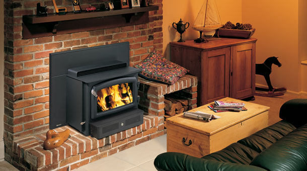 Regency Classic H2100 Hearth Heater Wood Insert Sweep A