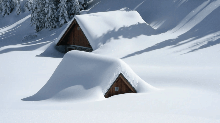 Snow Chimney Damage